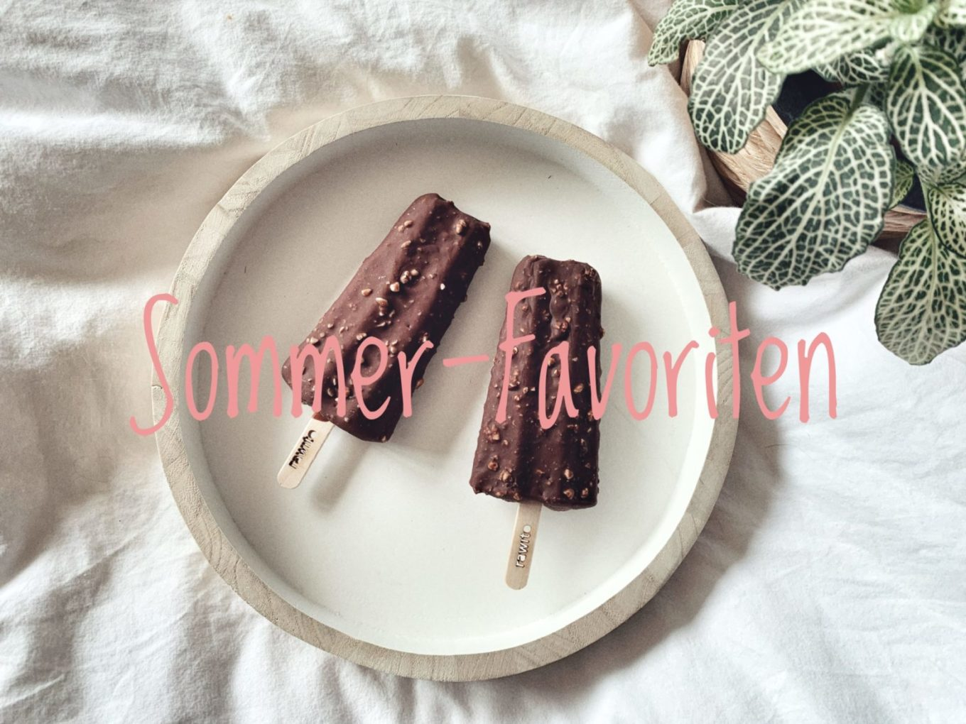 Sommer Favoriten: Zero Waste Eis, glowy Make Up & Fair Fashion